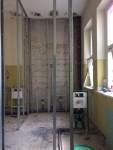 Die WC-Anlage im Hofflügel wird grundsaniert.