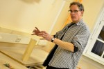 Michael erklärt die Welt der Holzbearbeitung