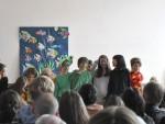 Applaus und zweiter Vorhang für die jungen Darstellerinnen und Darsteller