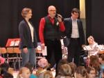 Begrüßung und Eröffnung des Fests durch Frau Heger, Herrn Grunenwald und Herrn Langenbrinck
